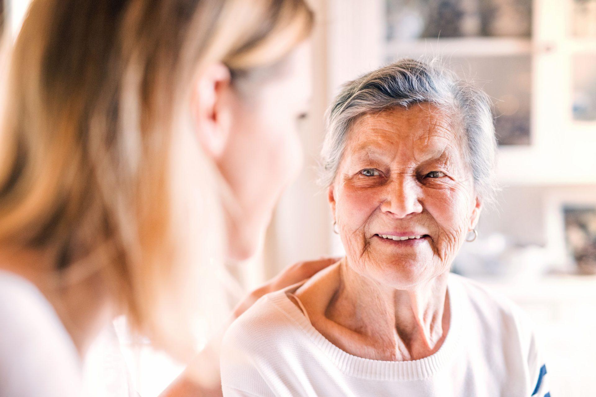Altenpflegern in der Schweiz